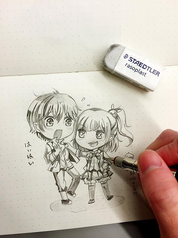 【cony的画】临摹,铅笔画