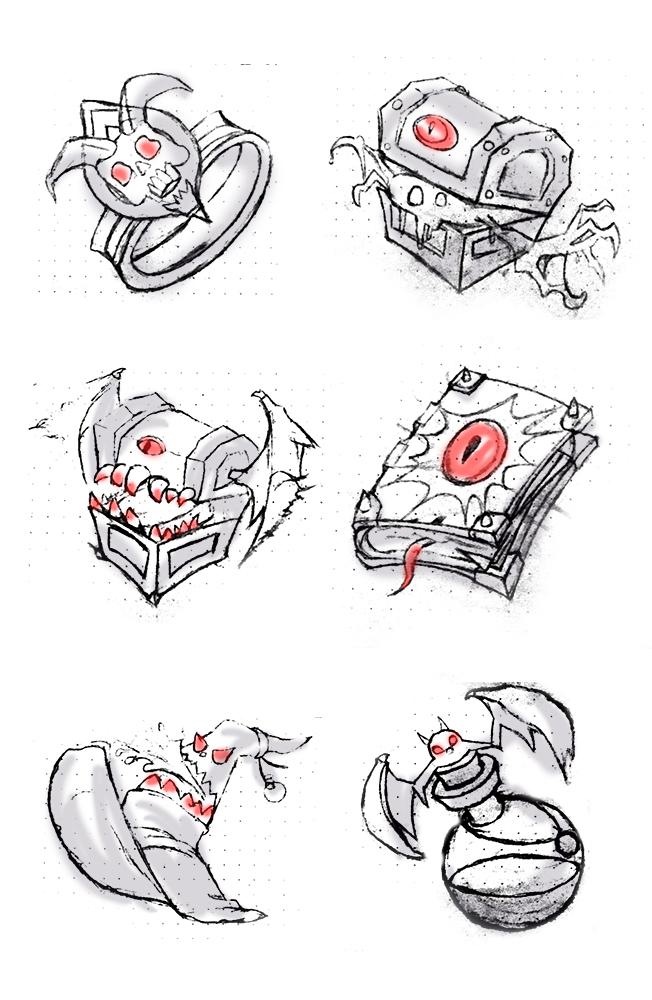 手绘图标|图标|ui|细牙