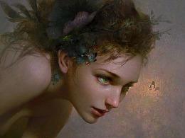 《月桂女神-达芙妮》黄光剑作品