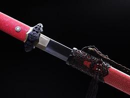 德匠堂宝剑-龙泉刀剑-镂空装唐将 典雅版(DJ-3502)