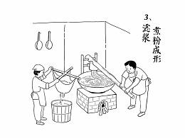 广州三个辣椒牛肉粉古法制作插图