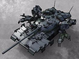 T-291A对恶魔作战专用主战坦克