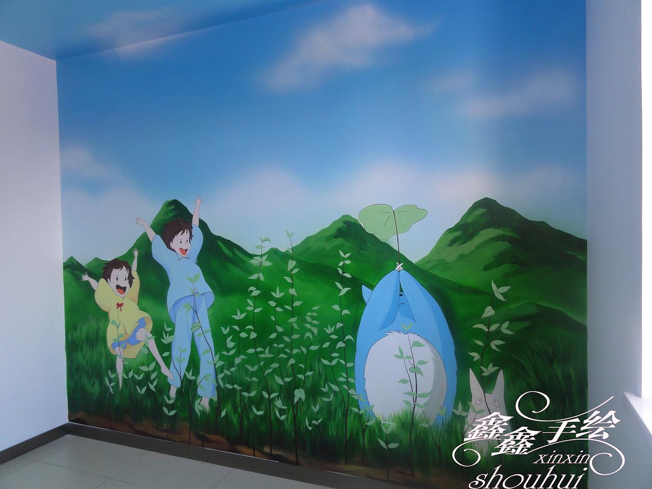大庆手绘儿童房作品