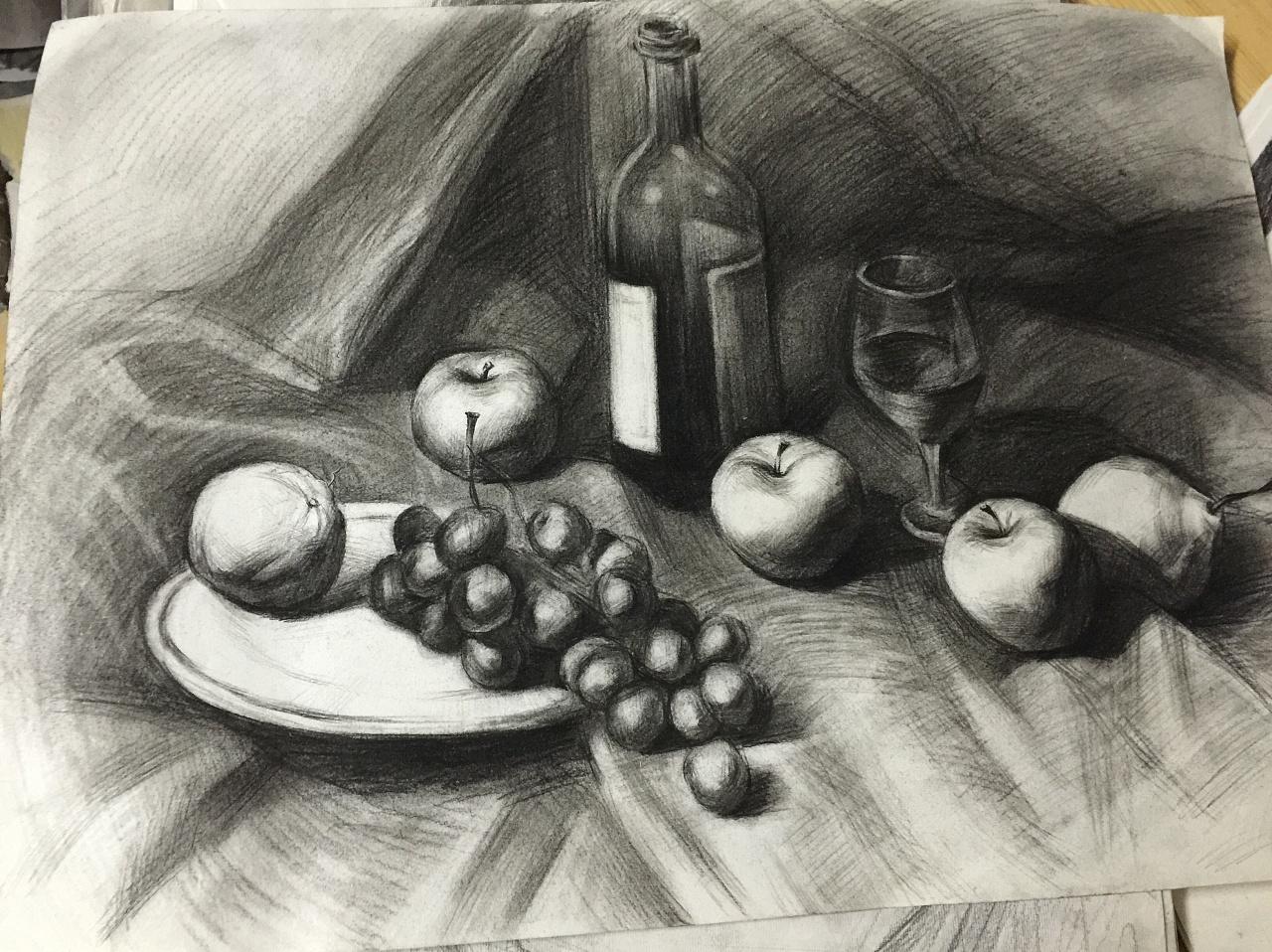 素描水果 图片合集