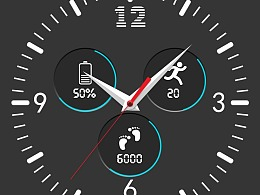 手表表盘UI界面