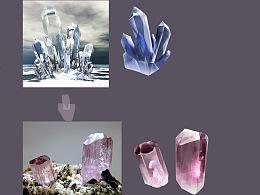 晶体材质练习