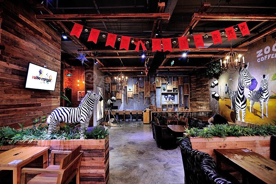 zoo coffee|动物园咖啡|室内设计|空间/建筑|食神餐饮