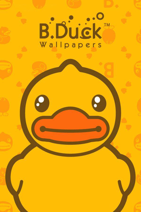 原创作品:大黄鸭壁纸
