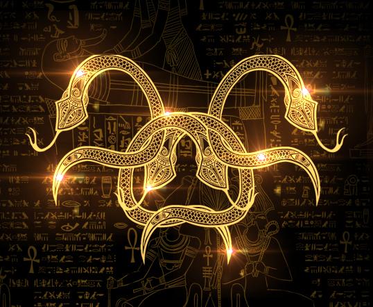原创作品:金蛇狂舞