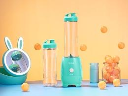 ▶场景拍摄-东菱爆款便携式果汁机×青年人摄影