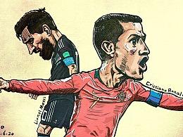 2018年俄罗斯世界杯 梅西&C罗