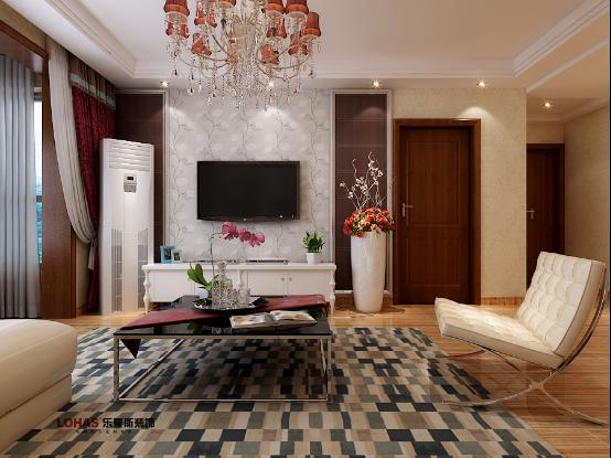 绿朗时光装修效果图|室内设计|空间/建筑|乐豪斯设计