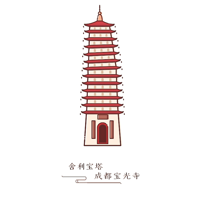 宝塔图标 舍利 UI Ppang-原创设计作品-站酷日本模具设计软件教程图片