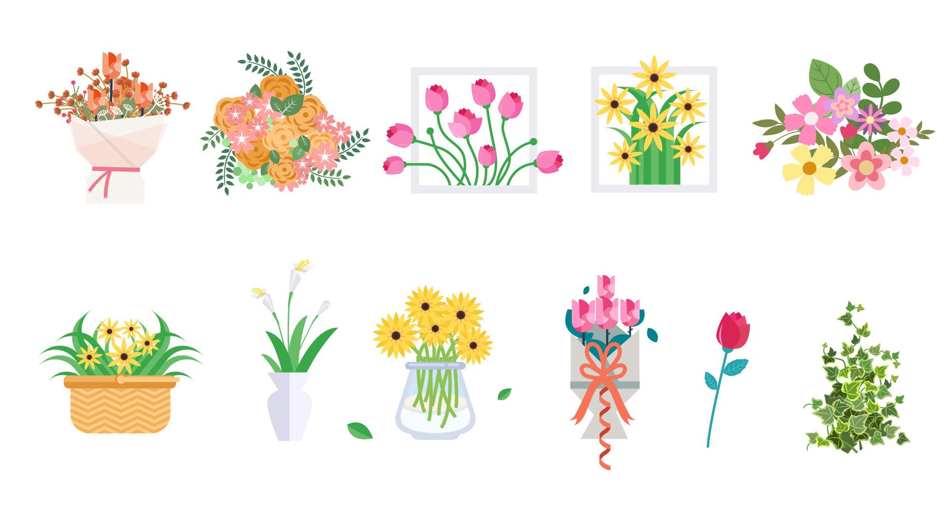 [沃森作品]鲜花港-一朵鲜花/一个舒适的清晨时光[产品图片