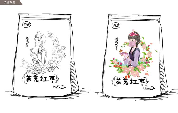 红枣插画/包装