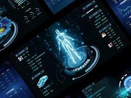 大屏数据可视化综合设计