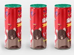 易拉罐饮料包装设计