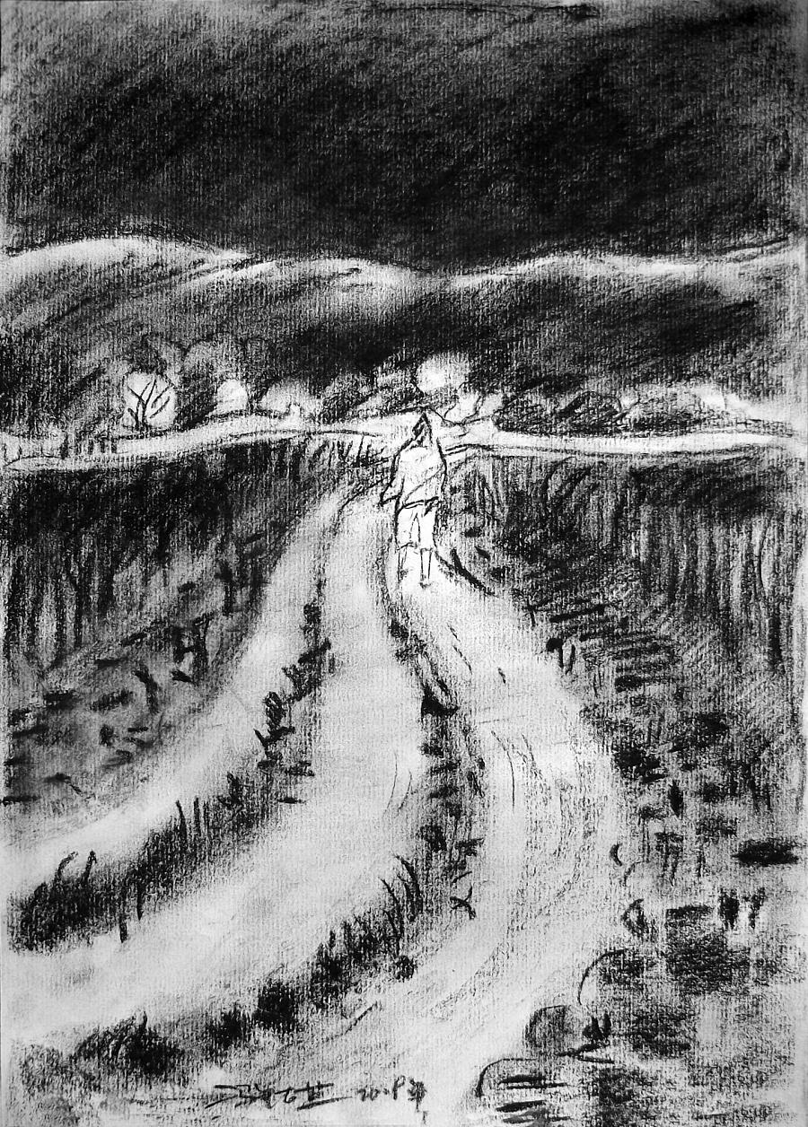 查看《09年《北方·青鸟集》作品选——零九年黑色的夏天》原图,原图尺寸:1437x2005