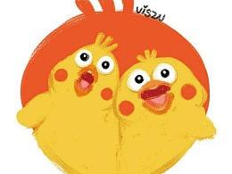 鹦鹉兄弟icon设计