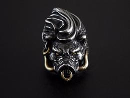[零十原创]猪刚鬣 戒指
