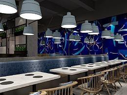 熊猫品牌设计-蓝波斯菊