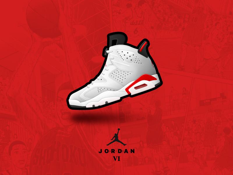 Air Jordan Series|绘画习作|插画|我叫你猜 - 原创