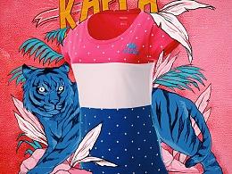 kappa 2015 s/s 夏季6月微博配图