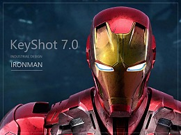 Keyshot 7.0渲染 - IRON MAN