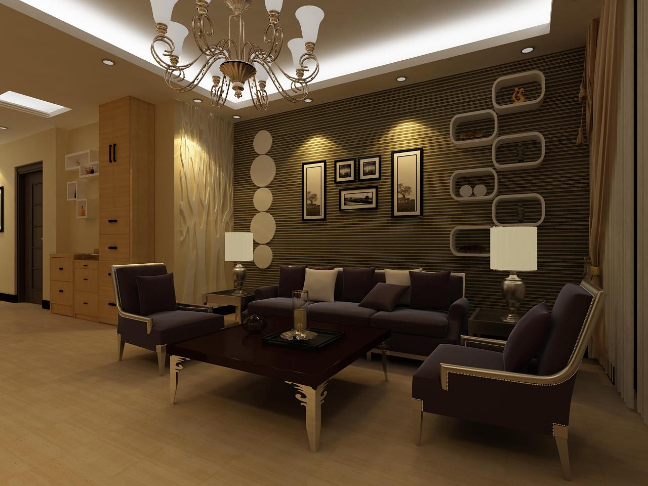 自己设计的一套室内效果图, 多多关照哦图片