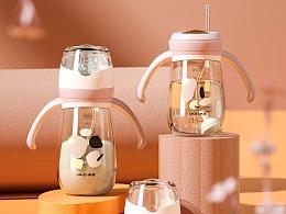 【母婴用品】奶瓶详情渲染设计