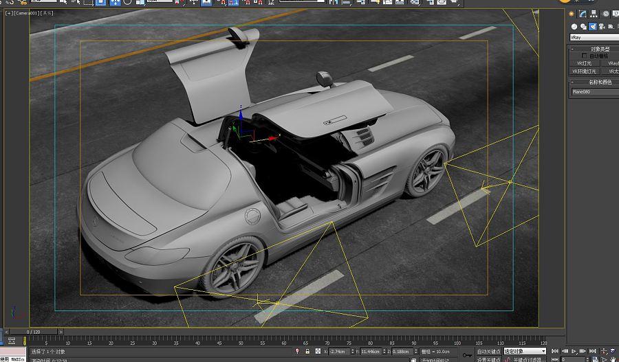 查看《VRAY渲染SLS AMG 》原图,原图尺寸:1605x939