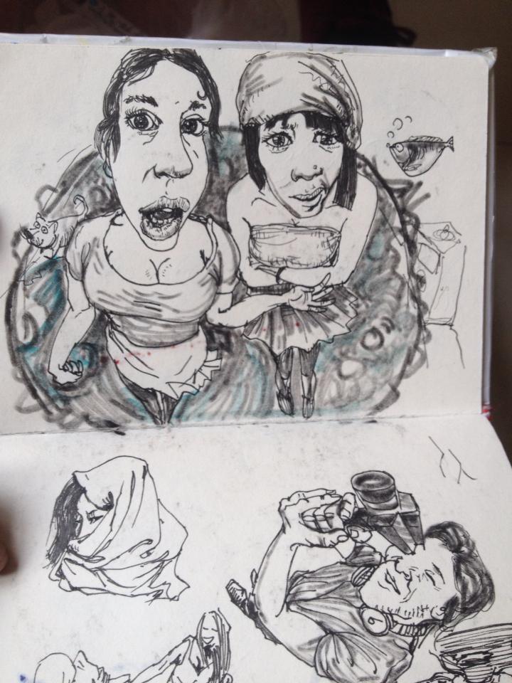 日常/画|绘画习作|插画|黑色瓶子