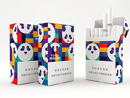 香烟包装-PANDA熊猫香烟包装设计