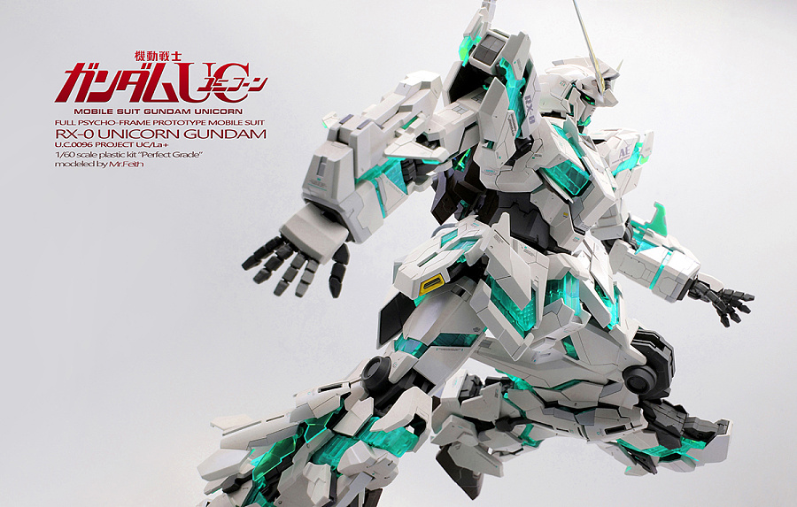 查看《PG RX-0 Gundam Unicorn 独角兽高达 喷涂作品》原图,原图尺寸:1200x764