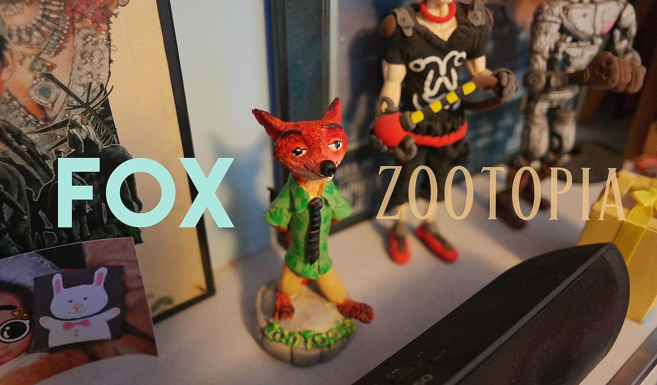 fox 疯狂动物城
