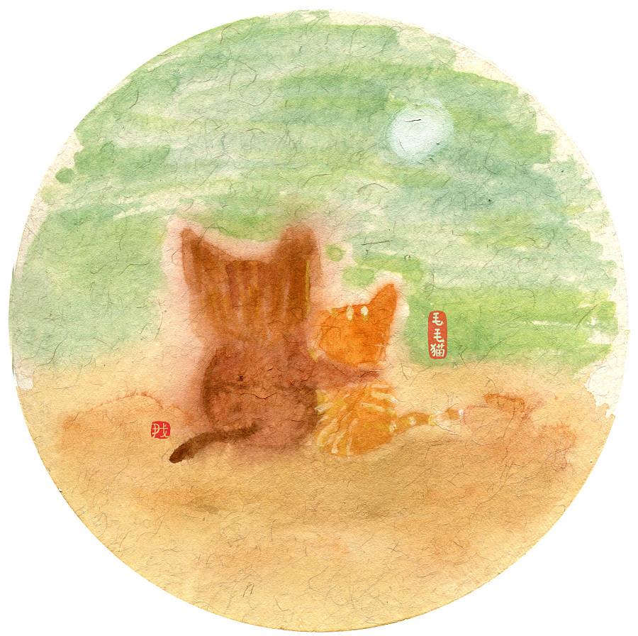 查看《近期的毛毛猫漫画作品》原图,原图尺寸:2536x2524