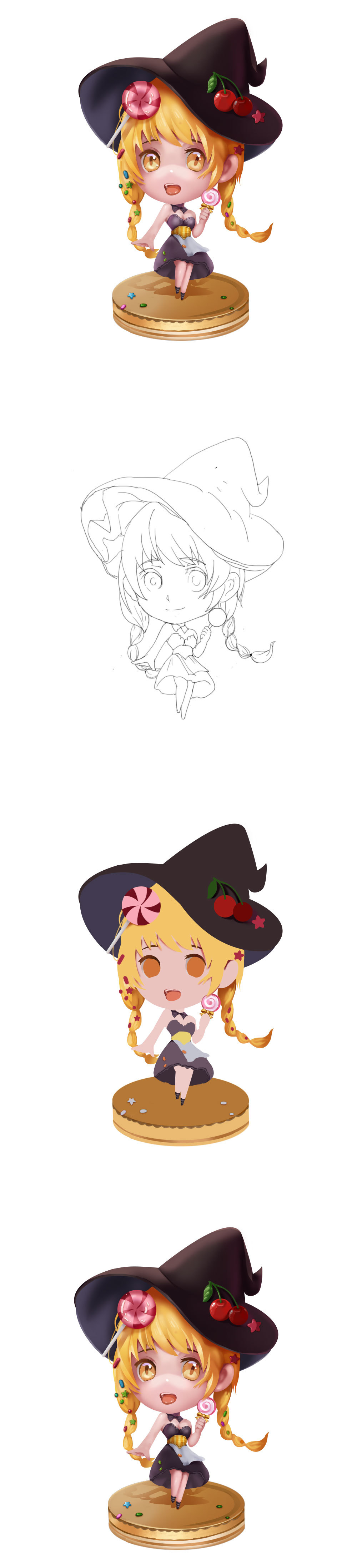 糖果小女巫