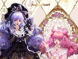 AngelsHeart-Lolita  约稿立绘~小裙子超可爱的