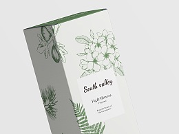SOUTH VALLEY草木馥™ | 香薰产品包装设计
