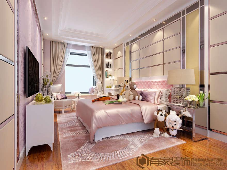 廈門東海山莊別墅235平戶型二手房裝修案例效