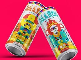 肖乐乐果饮包装设计