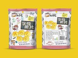 脆片包装设计、膨化食品包装设计、郑州食品包装设计