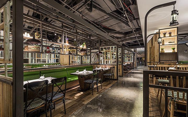 火锅店 · 餐饮空间设计-马家斑鱼东莞店