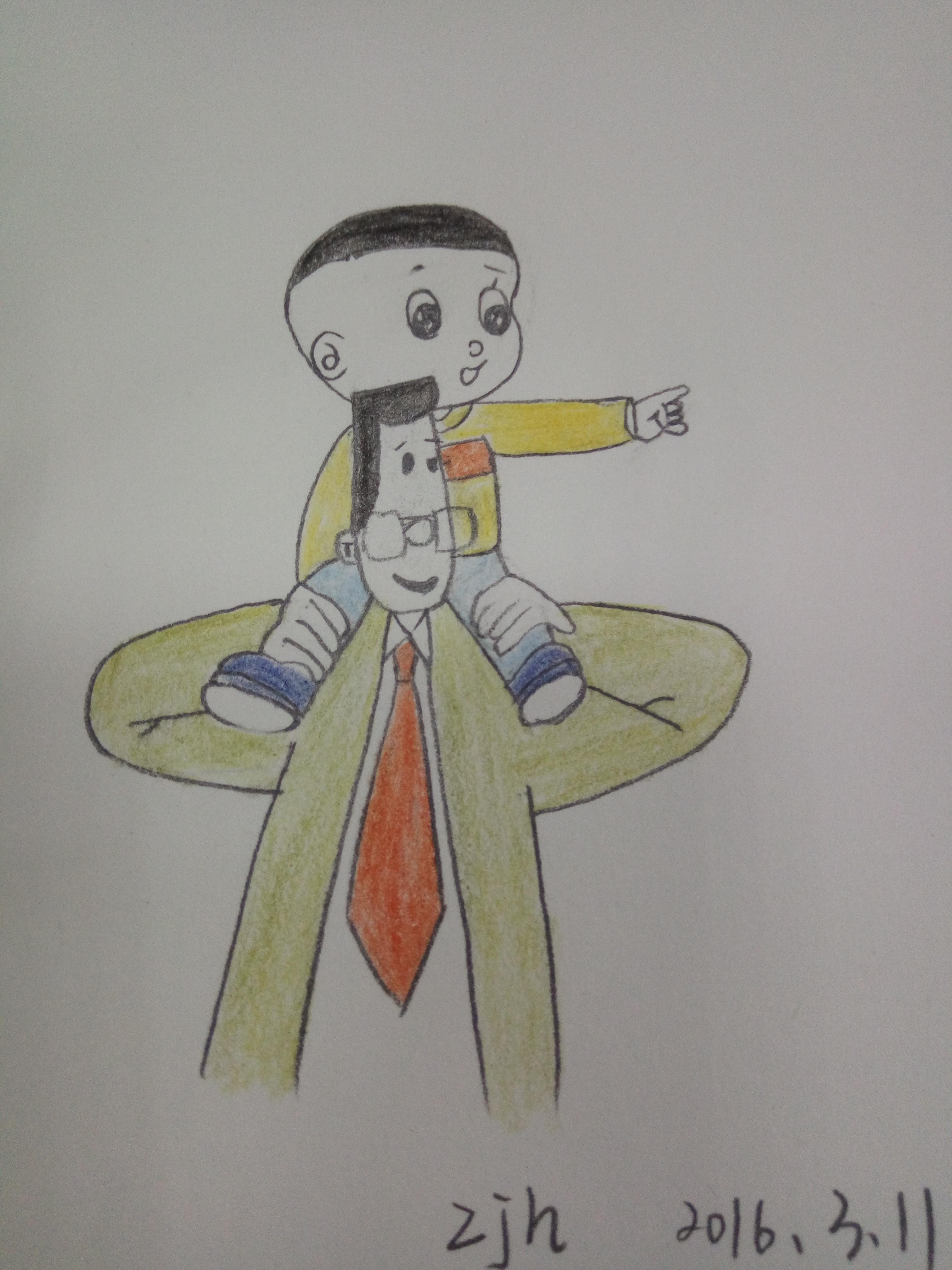坚持画画|插画|插画习作|海绵宝宝v5 - 原创作品图片