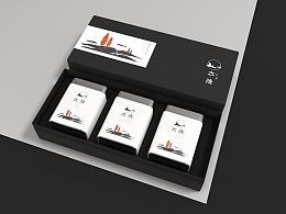 《大隐》logo及茶叶包装设计