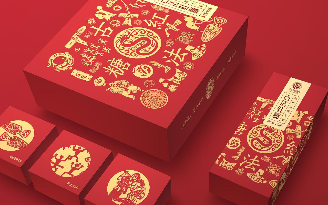 神龙岛红糖包装设计图片