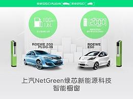 上海车展2015-上汽NetGreen智能橱窗