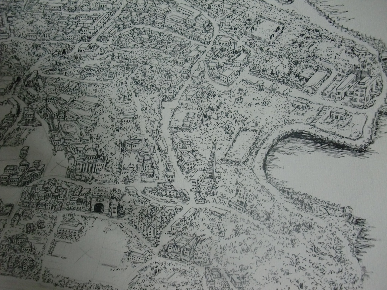 鼓浪屿手绘地图——《鼓浪屿3d大片》