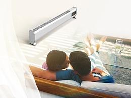 取暖器详情页设计高端电器详情天猫现代简约详情设计