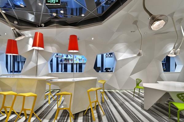食尚品餐厅-成都金牛万达店装修设计案例 展示